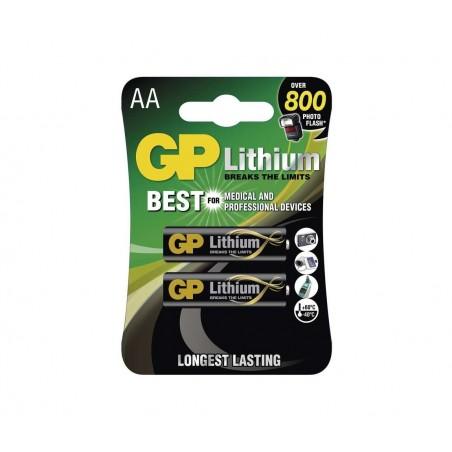 Baterije GP Lithium AA FR6, 1.5V - 4ks